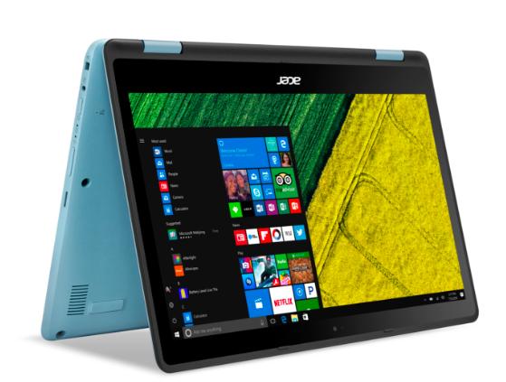 Acer Spin 1 SP113-31-C17E 2-in-1 Notebook (2GB, 32GB, eMMC, Win 10) für 199€