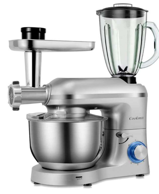 Cookmii 3 in 1 Universal Küchenmaschine mit 1800 Watt für 119,99€ inkl. Versand (statt 240€)