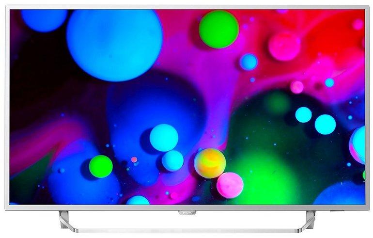 "Philips 55PUS6412 - 55"" UHD Smart TV (2-seitiges Ambilight) für 599,90€"