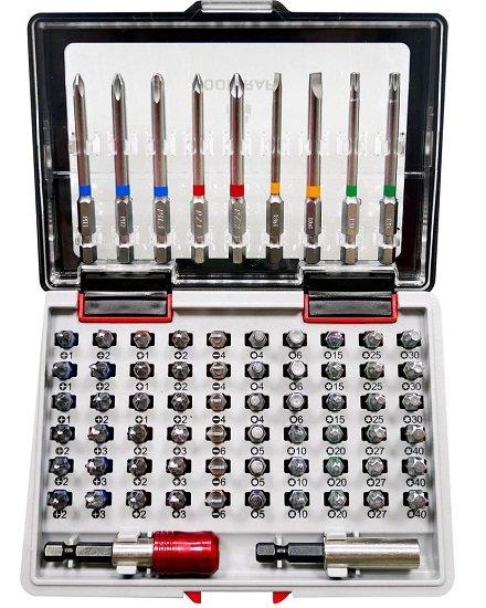 Digitalo Lagerräumungs-Verkauf, z.B. 71-teiliges Toolcraft Bit-Set für 11€ zzgl. VSK