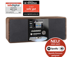 DABMAN i200 CD Internet & DAB+ Stereo Radio mit Spotify Connect für 129,99€