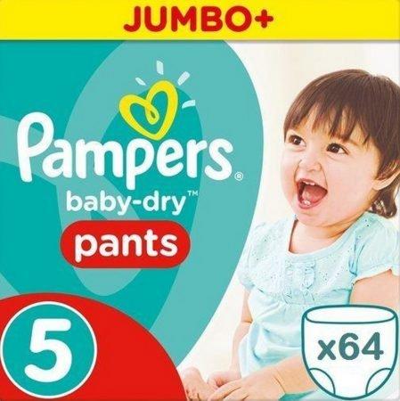 iBOOD: Pampers Windeln bis - 55% Rabatt, z.B. Pants Größe 5 64 Stück für 18,90€