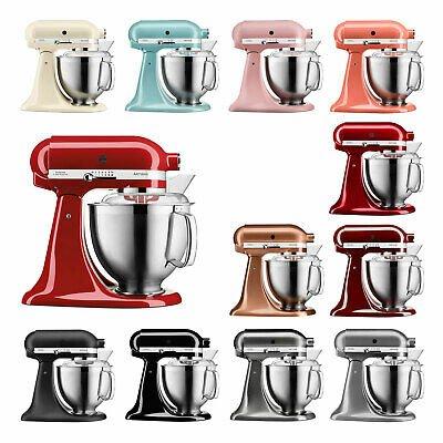 KitchenAid Artisan Küchenmaschine 5KSM185PS mit 4,8 Liter Edelstahlschüssel für 369€ (refurbished)