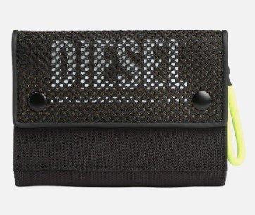 Diesel Geldbörse 'YOSHI' in schwarz für 26,06€ inkl. Versand (statt 58€)