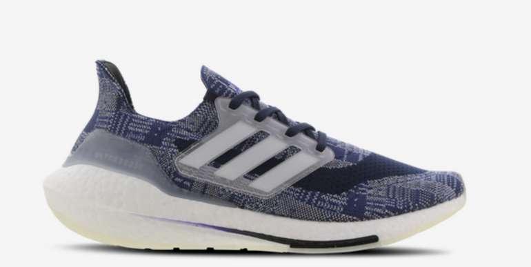 adidas Ultra Boost 21 Herren Schuh in Blau für 129,99€inkl. Versand (statt 150€)