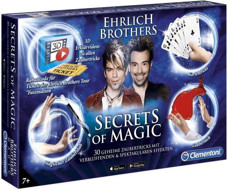 Clementoni Zauberkasten Secrets of Magic (59048) für 19,85€ inkl. Versand (statt 24€)
