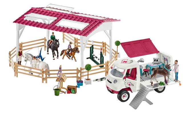 Schleich Spielzeug Sale mit 15% ExtraRabatt – z.B. Tierarzteinsatz für 59,49€