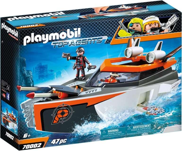 Playmobil Top Agents - Spy Team Turboship (70002) für 21,83€ inkl. Versand (statt 28€)