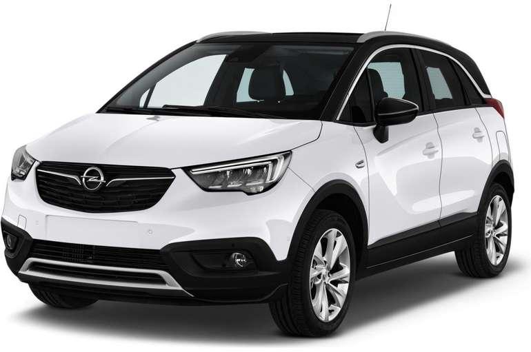 Gewerbeleasing: Opel Crossland X (102 PS) für 57,98€ netto monatlich (LF:0,28)
