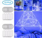 12er Pack Minger Kupferdraht LED Lichterketten in Blau für 6,49€ (Prime)