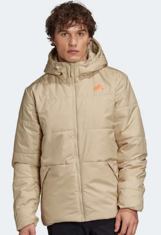adidas BSC Insulated Hooded Herren Jacke für 35€ inkl. Versand (statt 94€)