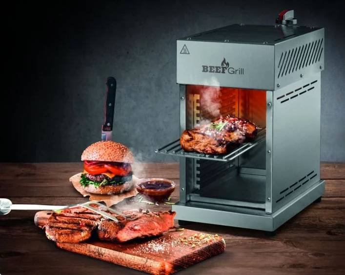 Gourmetmaxx Gasgrill/ Beef Maker bis 800°C, 3500W für 96,50€ (statt 133€)