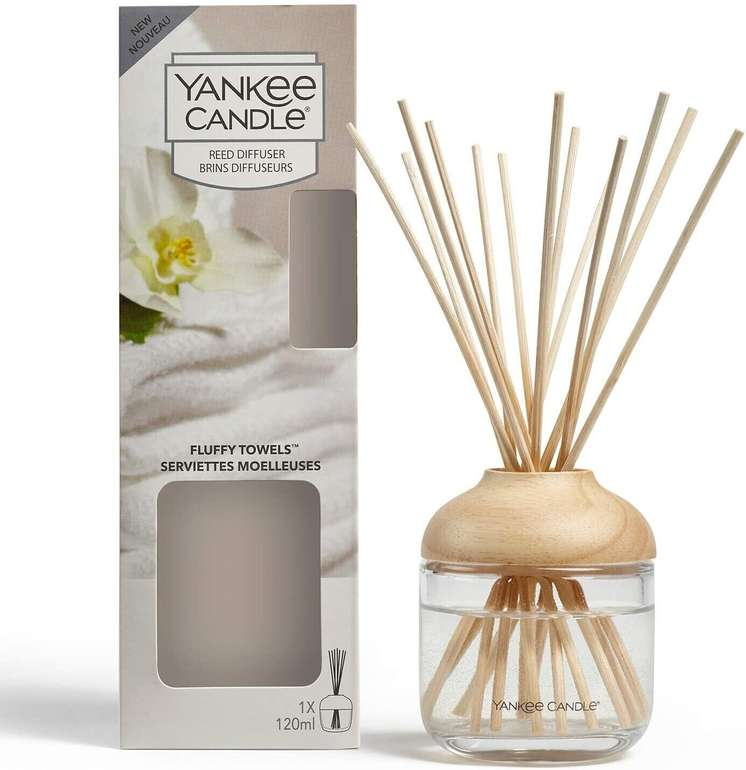 Yankee Candle Fluffy Towels Aroma Diffusor für 14,99€ inkl. Prime Versand (statt 27€)