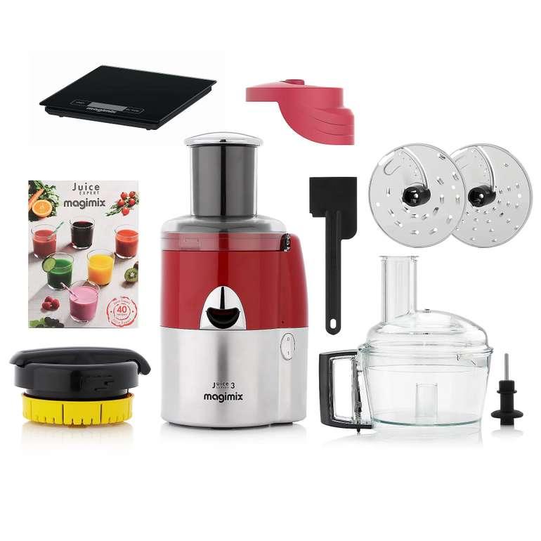 MAGIMIX Juice Expert 4 in 1-Entsafter inkl. Zubehör-Set & Küchenwaage für 225,93€ inkl. Versand (statt 310€)