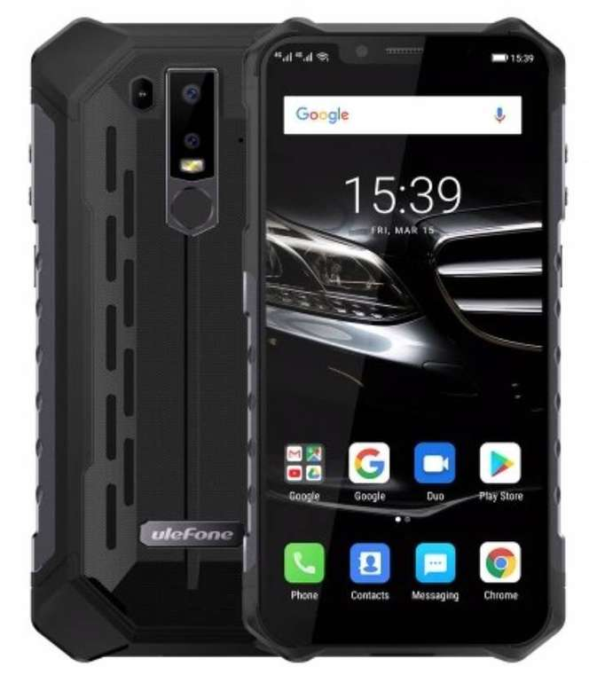 "Ulefone Armor 6E - 6,2"" Outdoor Smartphone (4GB RAM & 64GB Speicher) für 180€"
