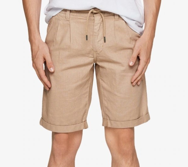 s.Oliver Herren Bermuda Shorts aus Leinenmix für 34,99€ inkl. Versand (statt 51€)