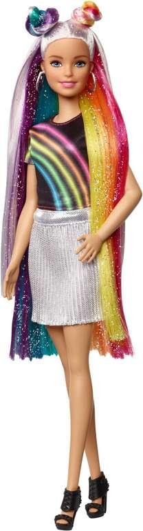 Mattel Barbie Regenbogen Glitzerhaar Puppe für 17,79€ inkl. Versand (statt 24€)