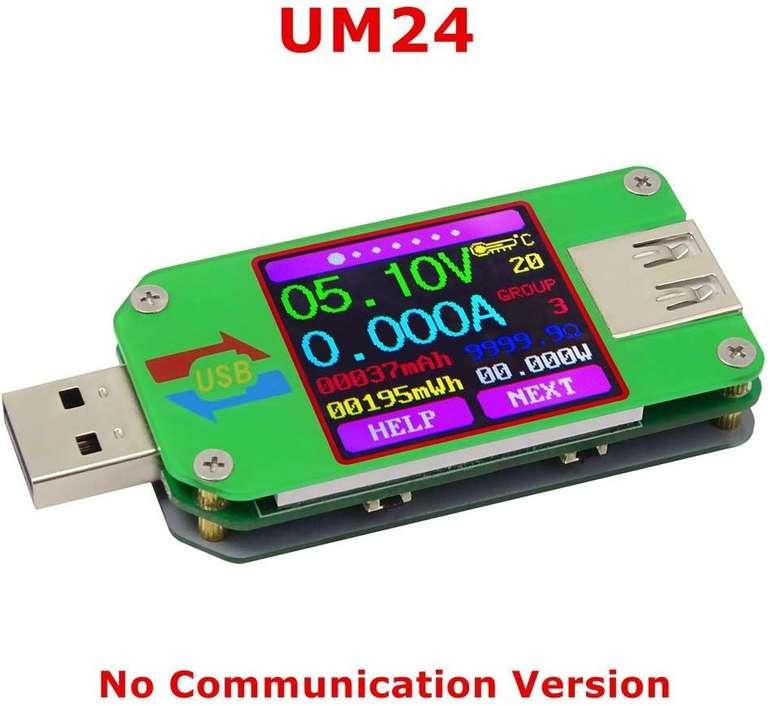 KKmoon UM24 USB Spannungs-/Strom Prüfer für 10,79€ inkl. VSK (Prime)