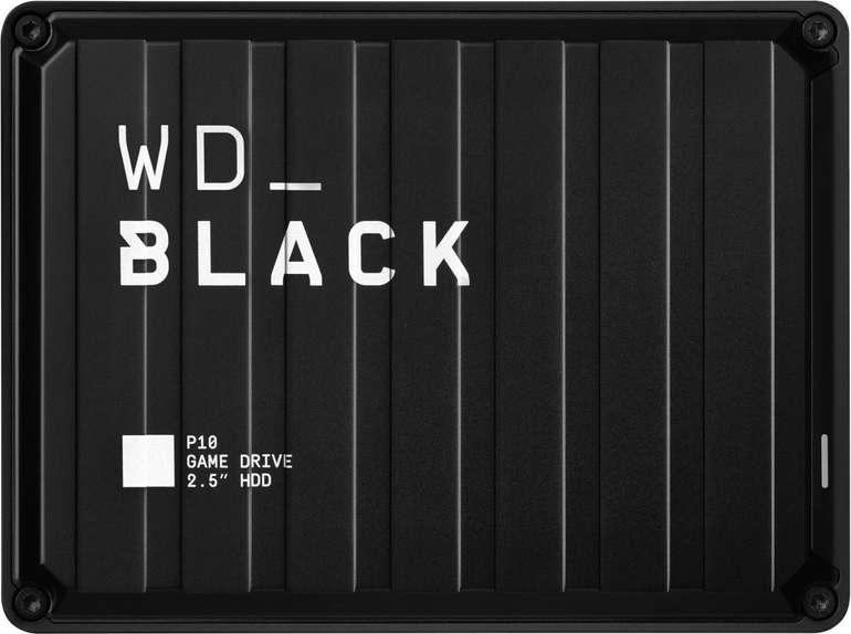 WD Black P10 Game Drive Externe Festplatte 5TB 2,5 Zoll für 129,99€ (statt 144€)