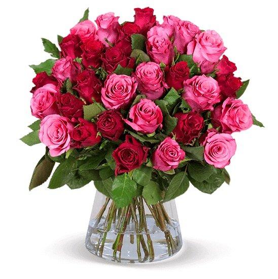 """40 Rosen im Blumenstrauß """"Crazy in Love"""" für 24,98€ inkl. Versand (statt 40€)"""