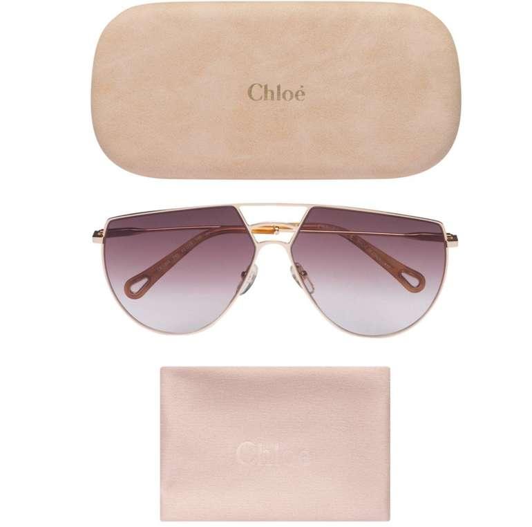Chloé Damen Sonnenbrillen: 9 Modelle inkl. Putztuch und Brillenetui schon ab 30,95€ inkl. Versand (statt 72€)