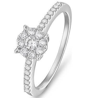 Christ Diamonds Damenring aus Weißgold (ca. 0,44 Karat) ab 849,15€ (statt 999€)