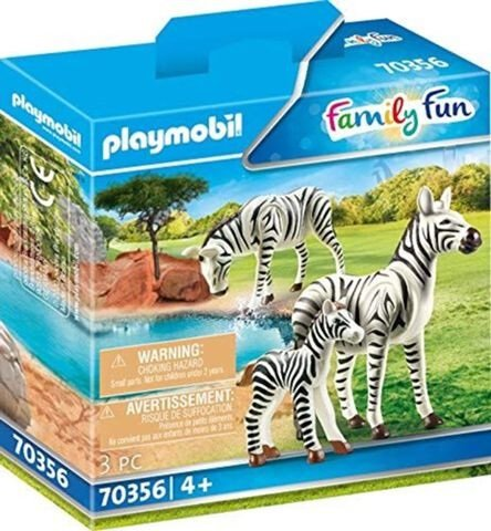 Playmobil Family Fun - 2 Zebras mit Baby (70356) für 4,50€ inkl. Prime Versand (statt 8€)
