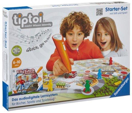 """Ravensburger TipToi Starter-Set """"Die Englisch-Detektive"""" (00501) für 28,44€"""