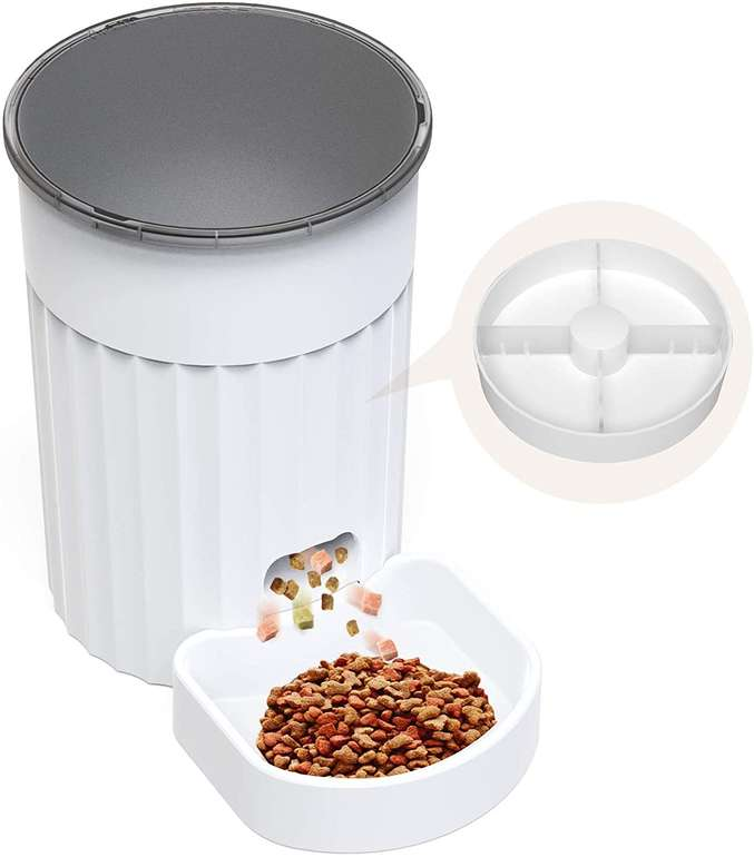 Dadypet automatischer Futterautomat (3 Liter) für 24,99€ inkl. Versand (statt 46€)