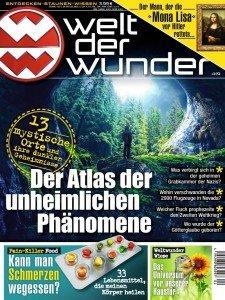 """12 Ausgaben """"Welt der Wunder"""" für 47,88€ + z.B. 40€ Amazon Gutschein"""