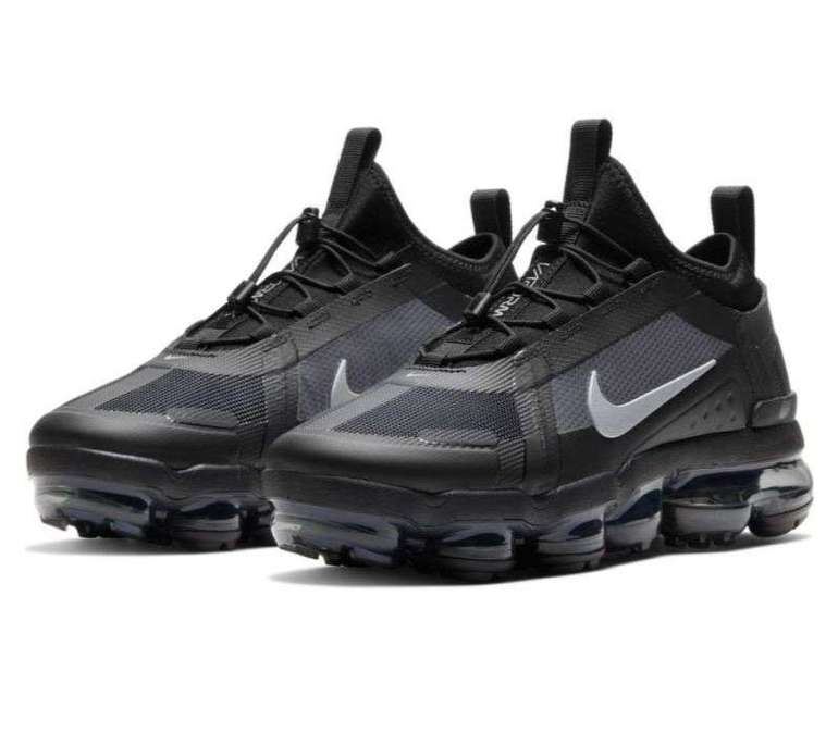 "Nike Air VaporMax 2019 Unisex Sneaker im ""Black/Reflective Silver""-Colourway für 112,46€"