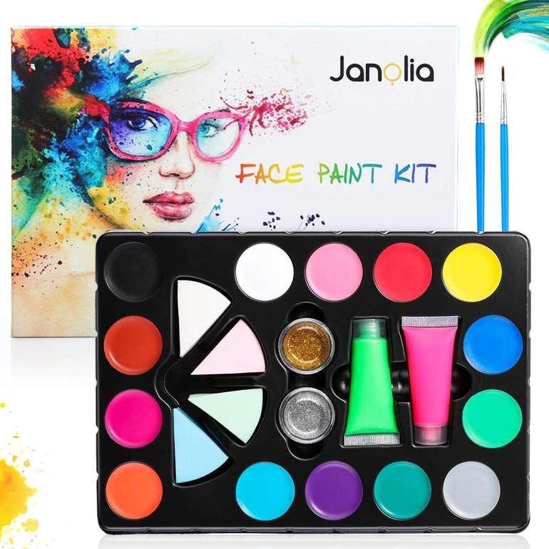 Janolia Body Painting Set mit 14 Farben für 7,29€ inkl. Versand (Prime)