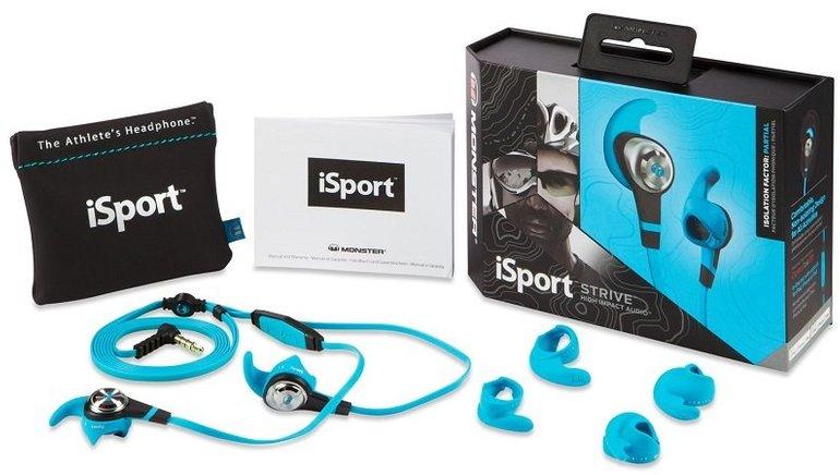 Monster iSport STRIVE InEar Sport-Kopfhörer mit ControlTalk für 19,99€