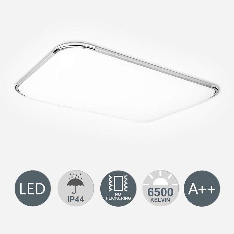 Hengda flimmerfreie LED Deckenleuchte mit 48 Watt in 3 Varianten ab 24,04€ inkl. VSK