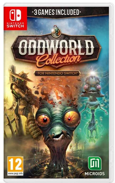 Oddworld (Complete Collection) für die Switch für 35,95€ inkl. Versand (statt 48€)