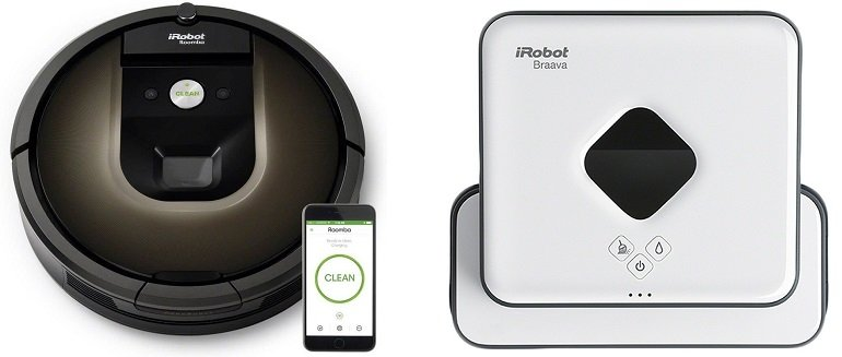 iRobot Roomba 980 Staubsaugroboter + Nasswischroboter 390t für 559,99€ (statt 611€)