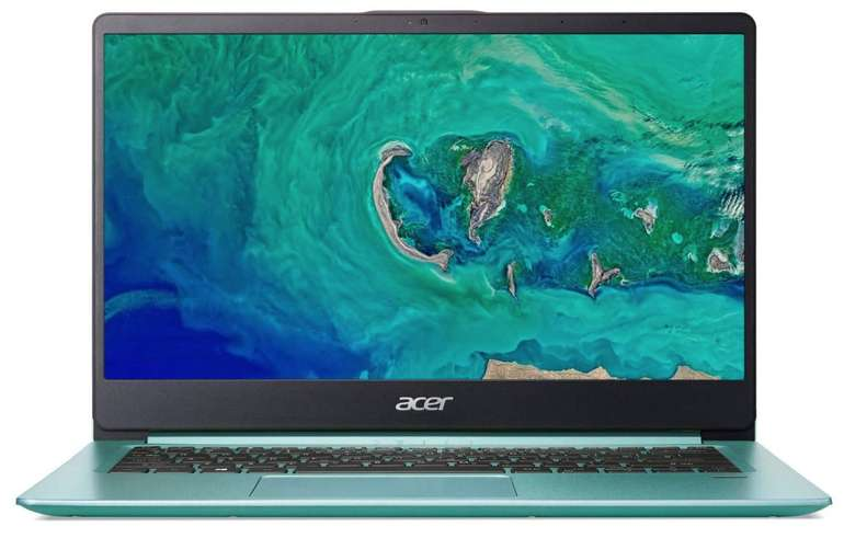 "Acer Swift 1 (SF114-32-P8VP) - 14"" Full-HD IPS Ultrabook (Intel N5000, 4GB RAM, 64GB eMMC) für 299€"