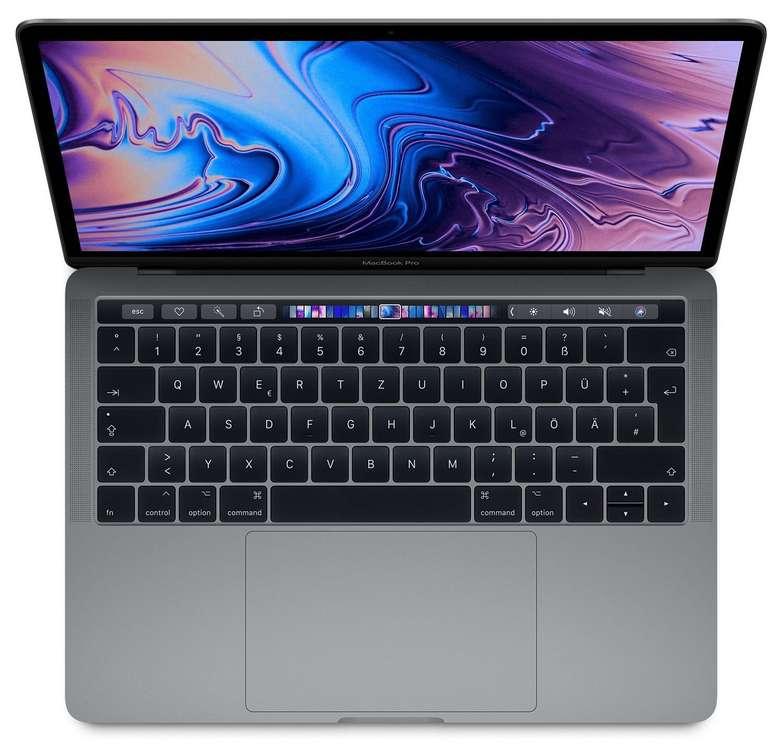 """Apple MacBook Pro (2018) - 13,3"""" Notebook (i5-8259U, 2,3 GHz, 8GB RAM, 256GB SSD) für 1249€ - gebraucht A+"""