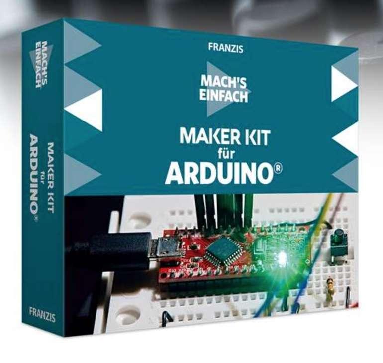 Franzis: Maker Kit für Arduino - Mach's einfach für 19,22€ inkl. Versand (statt 60€)