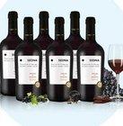 17% Rabatt auf alle Ebrosia Weinpakete, z.B. 6 Fl. Primitivo Esempio 38,14€