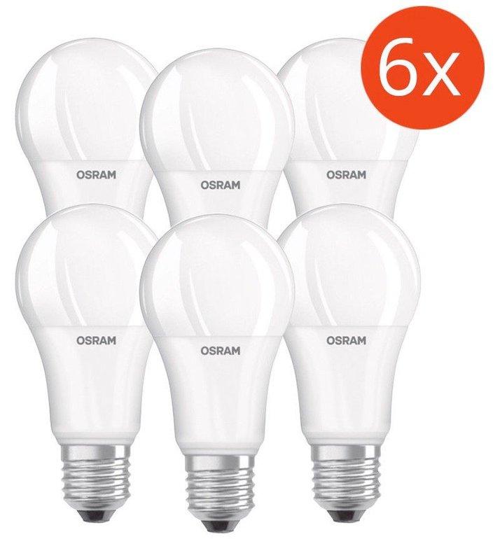 6er-Pack Osram LED Base A100 E27 Birnen mit 14W für 19,49€ inkl. Versand