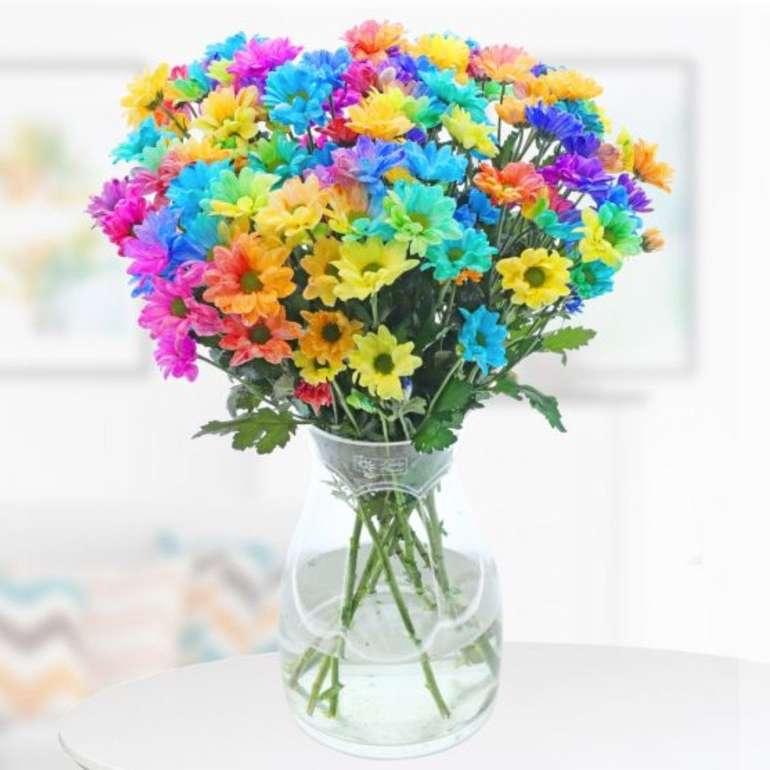 """Blumenstrauß """"Colours of Hope"""" + Grußkarte für 26,90€ inkl. Versand"""