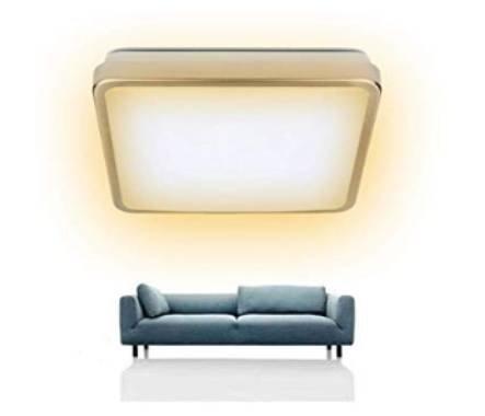 Vingo 12W LED Deckenleuchte mit Sternenhimmeleffekt für 13,99€ inkl. Versand