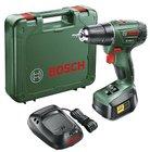 Akkuschrauber Bosch PSR 1800 LI-2 + 18 V Akku, Ladegerät & Koffer für 85,94€