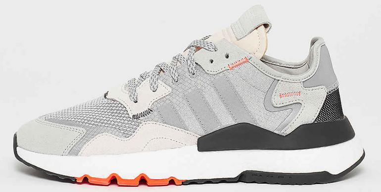 Adidas Nite Jogger Sneaker in grey two/solid grey/solar für 80€ (statt 100€)