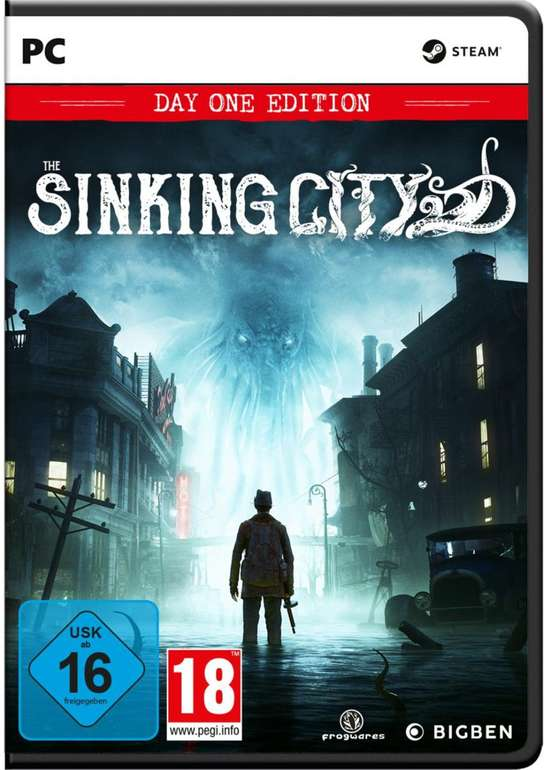 The Sinking City - Limited Day One Edition (PC) für 12,68€ inkl. Versand (statt 21€)