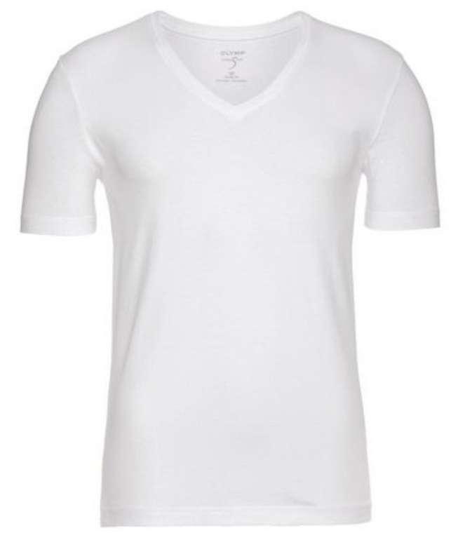 Olymp Level Five body fit T-Shirt bzw. Unterhemd mit V-Ausschnitt für 11,19€ inkl. Versand (statt 20€)