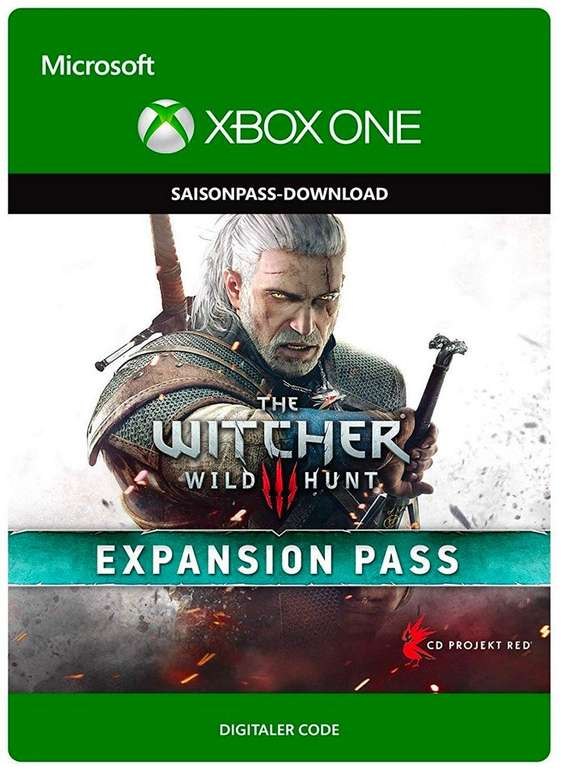 The Witcher 3: Wild Hunt Expansion Pass für die Xbox One je 9,99€ zum Downloaden (statt 18€)
