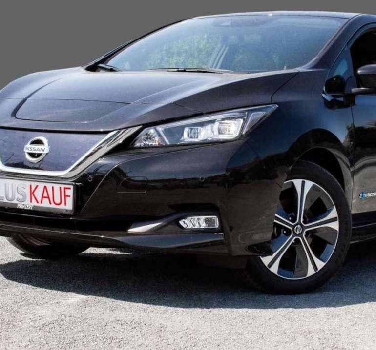 Privat & Gewerbe Leasing: Nissan Leaf ZE1 MY19 TEKNA mit 150 PS (40kWh-Batterie) für 109€ mtl. (LF: 0,26)
