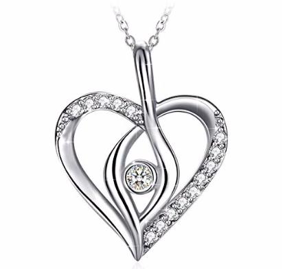 """Zhulery Damen Halskette """"Romantisches Märchen"""" aus 925er Silber ab 9,90€ (Prime)"""